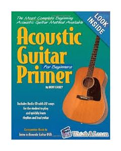 Watch & Learn Acoustic Guitar