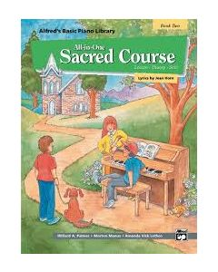 Alfred's All In One Sacred Course Lesson Solo 2