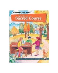 Alfred's All In One Sacred Course Lesson Solo 3
