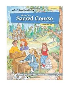 Alfred's All In One Sacred Course Lesson Solo 4