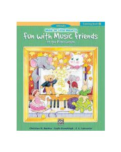 Alfred's Little Mozarts Fun With Music Friends Coloring Book 2