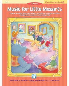 Alfred's Music For Little Mozarts Discovery 1