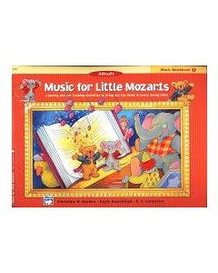 Alfred's Music For Little Mozarts Music Workbook 1