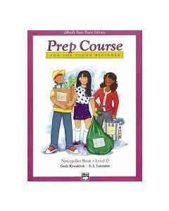 Alfred's Prep Course For The Young Beginner Notespeller D