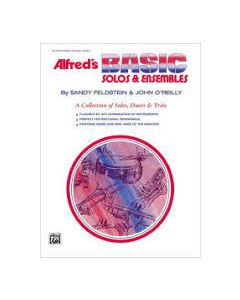 Alfred's Basic Solos & Esembles Clarinet Bass-Clarinet Book 1