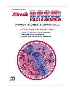 Alfred's Basic Solos & Esembles Clarinet Bass Clarinet Book 2