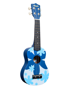 Blue Flower Ukelele