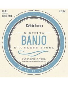 D'Addario Banjo Strings Light