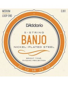 D'Addario Banjo Strings Medium