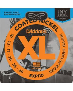 D'addario Coated Phospor Bronze Guitar Strings Medium
