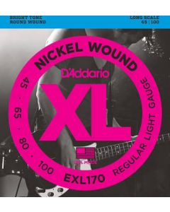 D'Addario XL Bass Strings Long Scale