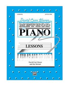 David Carr Glover Method For Piano Lessons Level 1