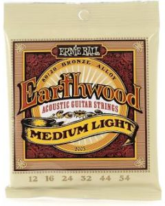 Earthwood Acoustic Strings Medium-Light