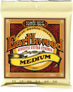 Earthwood Acoustic Strings Medium