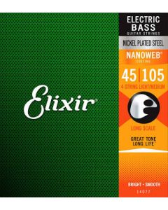 Elixir Nanoweb Bass Strings L/M