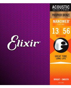 Elisir Nanoweb Bronze Acoustic Strings Medium