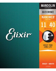 Elixir Nanoweb Mandolin Strings Medium