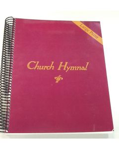 Church Hymnal (Red book)