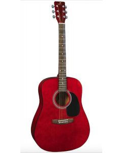 J Reynolds Red Guitar