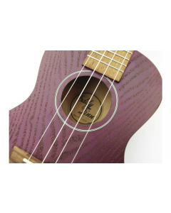 Eddie Finn Purple Quilted Ash